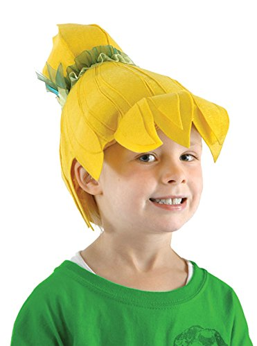 UHC Disney's Tinkerbell Fabric Fairy Wig Child Halloween Costume Accessory