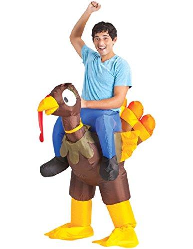 Adult Inflatable Turkey Rider Costume