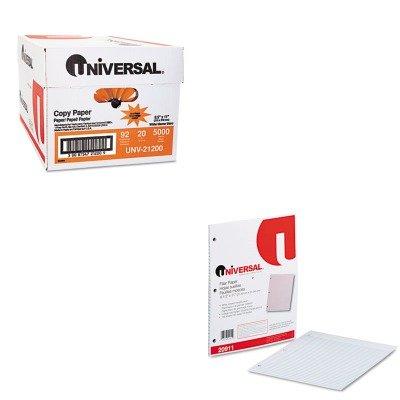KITUNV20911UNV21200 - Value Kit - Universal Mediumweight 16-lb. Filler Paper (UNV20911) and Universal Copy Paper (UNV21200)