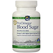 Nordic Naturals, ProOmega® Blood Sugar 1000 mg 60 gels