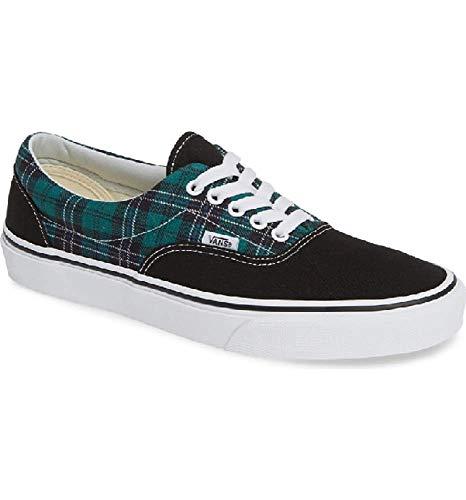 Vans Era Tartan Pack Evergreen/True White Men's Classic Skate Shoes Size 12 -