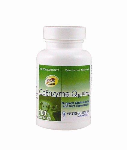 Vetri-Science 10 mg Coenzyme Q10, 100 Capsules