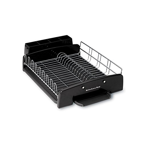 Kitchenaid 3 Piece Dish Rack Black Best Retro Products