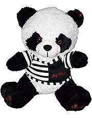 Dabdob of panda fur form wearing a jacket 120cm