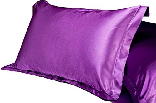 UNIHOME 100% Silky Satin Hair Beauty Pillowcase, Standard/Qu