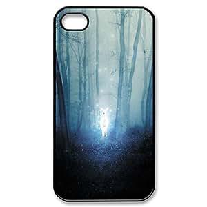 Harry Potter Severus Snape's Patronus Cover Hard Plastic for iPhone 4 4S Case A08