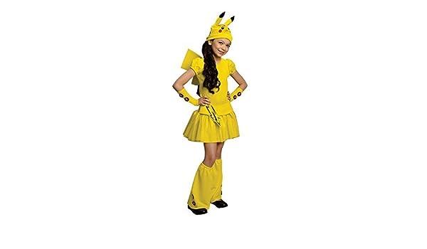 Amazon.com  M size Pokemon Pikachu Cosplay Costume children girl kids  Narikiri fancy dress goods  parallel import goods   Toys   Games 1f9b008a5
