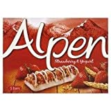 Alpen Strawberry With Yoghurt Cereal 5 Bars 29 Gram - Pack of 6