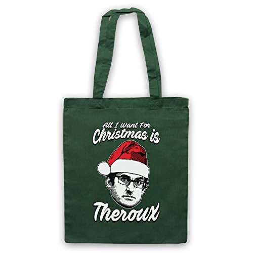 Theroux Want For All Dark Green Tote Louis Bag Theroux Is Christmas I wt4TW0xBq
