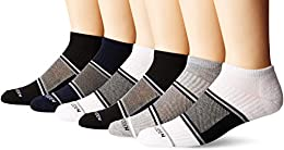 Best Online Men Athletic Low Cuts With Mesh White Heather Grayblack