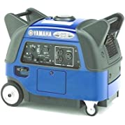 Yamaha EF3000iSE, 2800 Running Watts/3000 Starting Watts, Gas Powered Portable Inverter, CARB Compliant