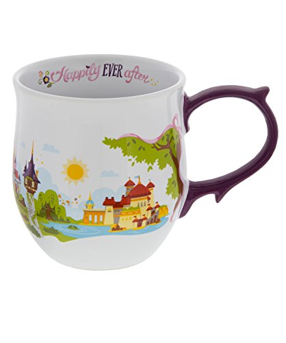 Disney Parks Princess Castles Ceramic ()