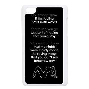 Unique Design Durable Hard Cover Case Cover for Ipod Touch 4 Phone Case - Arctic Monkey HX-MI-1612402