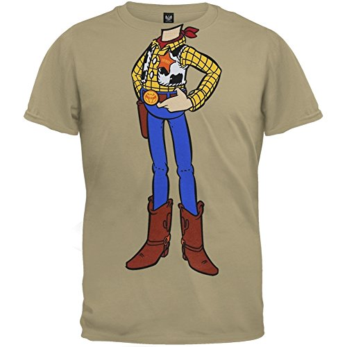 Toy Story - Unisex Woody Chillin Juvy T-shirt Juvy Small Tan OG - The Story Og