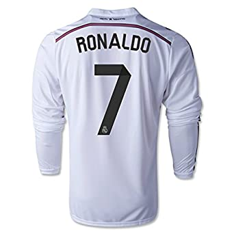 16deb130c Image Unavailable. Image not available for. Color  Real Madrid 14 15  RONALDO LS Home ...