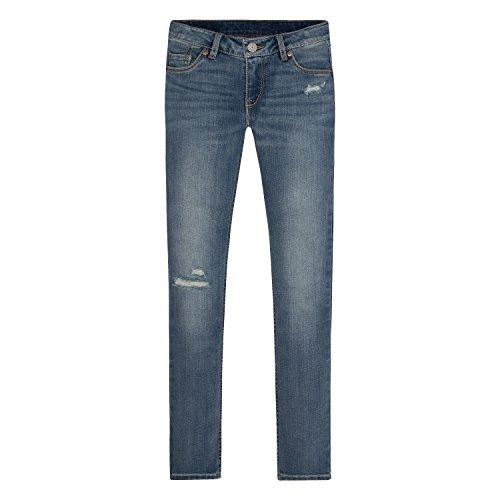Levi's Girls' 711 Skinny Fit Jeans , Vintage Waters, 10 Slim (Jeans Skinny Slim Girls)