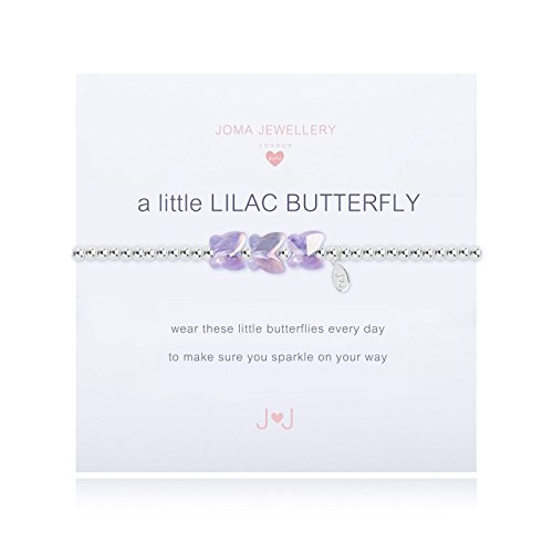 Joma Jewellery Children's Bracelet - a little Lilac Butterfly Bracelet C364