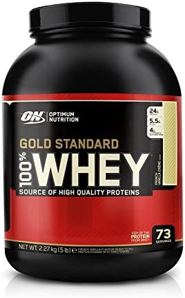 Optimum Nutrition Gold Standard Whey, 2270g Dose , Vanille