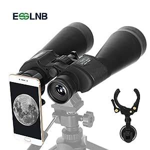ESSLNB 15X70 Astronomía Prismáticos con Adaptador de Telefono Trípode y Bolso para Terrestre Visita Caza Turismo
