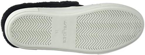 2987dbd89d83d J Slides Women's Azul Sneaker, Black Suede, 7.5 Medium US: Amazon ...
