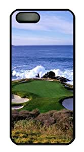 Golf Hole Custom iPhone 5s/5 Case Cover Polycarbonate Black