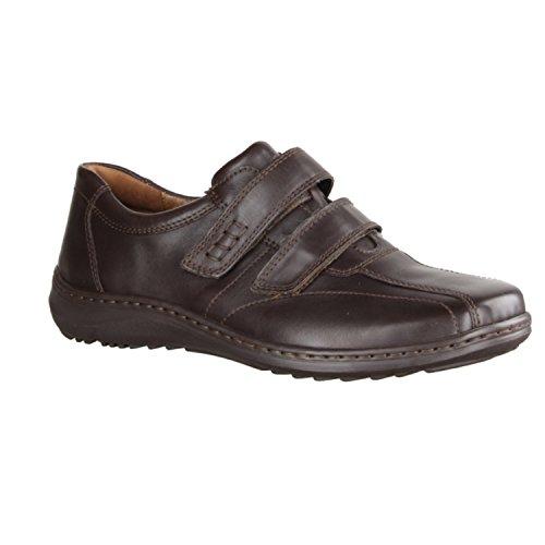 Waldläufer Palmer 478301 174 001 Zapatillas De Hombre Zapato bajo Confort deportivos y elegante Boden - Marrón, 44