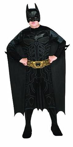 Batman Dark Knight Rises Child's Batman Costume with Mask and Cape - Medium (Bane Kostüm Uk)