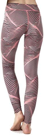 ZOANO High Waisted Printed Yoga Pants for Women Workout Leggings Running Pants 1