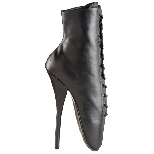 Boots Pleaser Leather Boots Black Women's Black Pleaser Pleaser Leather Women's qv06Oqr
