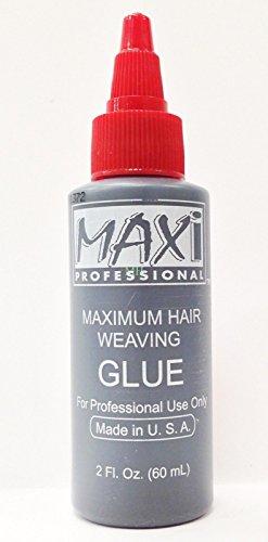 3PCS OF MAXI PROFESSIONAL MAXIMUM HAIR WEAVING GLUE 2oz MADE IN USA