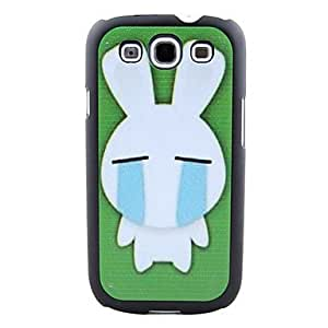 PC Painted Hard Case for Samsung Galaxy S3 I9300 --- COLOR:Green