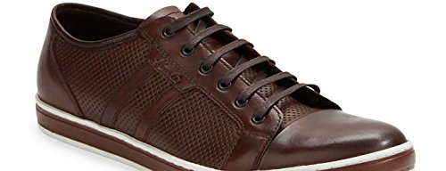 Kenneth Cole Brand-Wagon 2 Low Top Mens Sneaker, Brown - 9.5