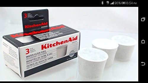 KitchenAid KCM5WFP Universal Water Filter Pods (Kitchenaid Coffee Filter 69164 compare prices)