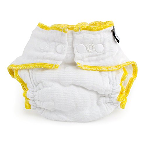 Cloth-eez Workhorse Fitted Diaper White Snap (Small)