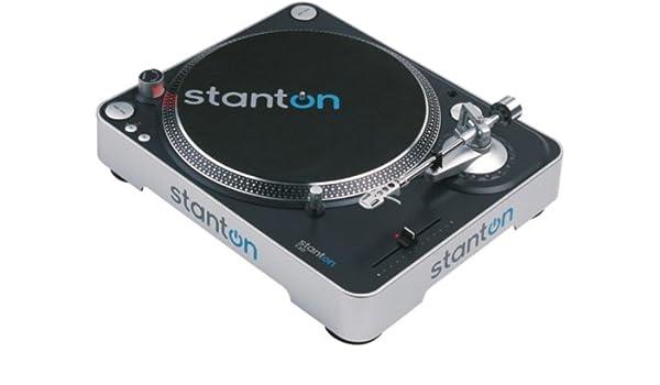 Stanton T.50X Turntable Without Cartridge: Amazon.es: Instrumentos ...