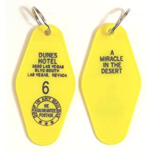 Dunes Hotel Inspired Key Tag