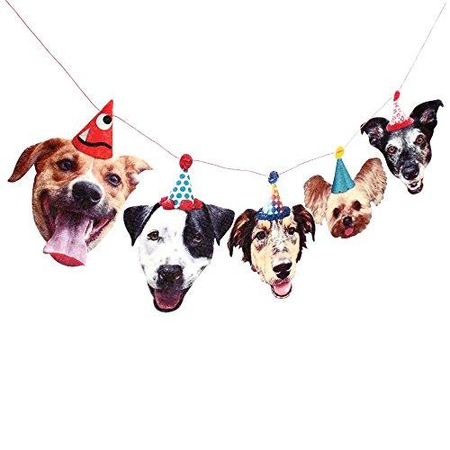 Mutts Birthday Party Decoration Garland Banner