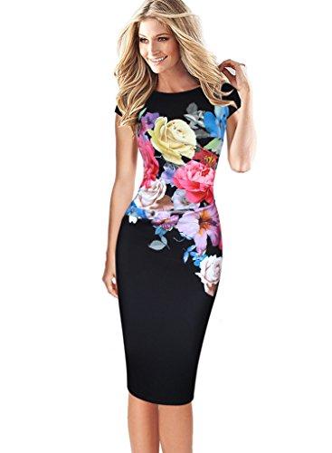 Buy black ruched dress plus size - 5