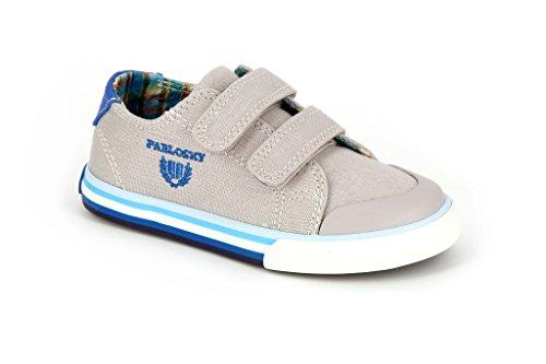 Pablosky 932450 - Zapatillas con velcro  infantiles Gris