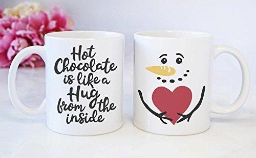 Christmas Coffee Mugs.Amazon Com Christmas Coffee Mug Hot Chocolate Is Like A