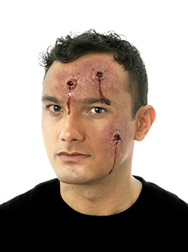 Woochie Classic Latex Appliances - Professional Quality Halloween Costume Makeup - Bloody Hits]()
