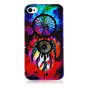 Mini - Dream Catcher Pattern Silicone Soft Case for iPhone5/5S