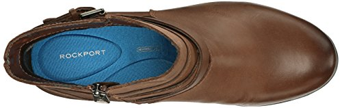 Rockport Womens City Casuals Catriona Buckle Boot Nutella Nubuck