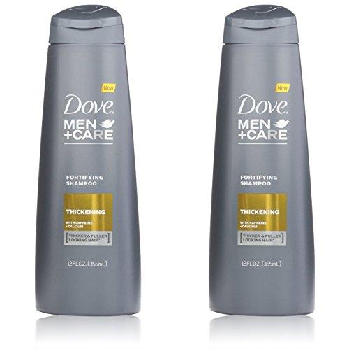 Dove Men + Care Shampooing Fortifiant - épaississement - 12 ml - Lot de 2