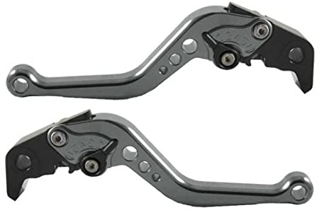 Short Motorcycle Brake and Clutch Levers for Kawasaki Z650 2017-2019,Z900 not for Z900RS 2017-2019,Ninja650R ER6F 2017-2019,Versys 650 cc 2015-2019 Versys 1000 15-18,vulcan//s 650cc 2015-2019-Purple