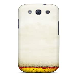 Hot Design Premium ItdfCkI3154GGDvN Tpu Case Cover Galaxy S3 Protection Case(beer Foam)