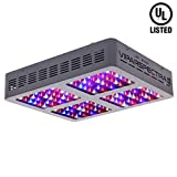 VIPARSPECTRA UL Certified Reflector Series V600 600W LED Grow Light Full Spectrum for Indoor Plants Veg and Flower, Has Daisy Chain Function