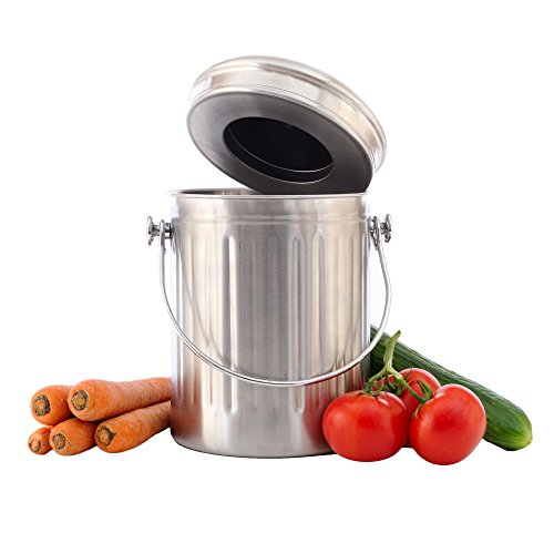 Chef's Star Stainless Steel Compost Bin 1 Gallon by Chef's Star (Image #4)