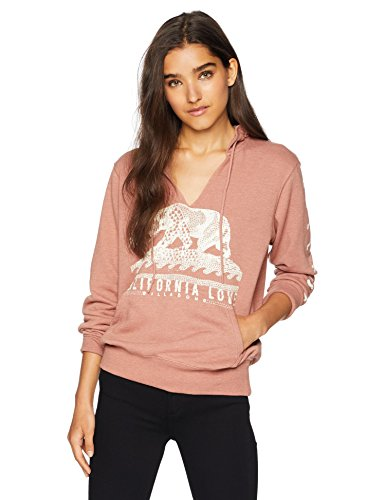 (Billabong Women's Days Off 2 Pullover Hoodie Washed Plum)