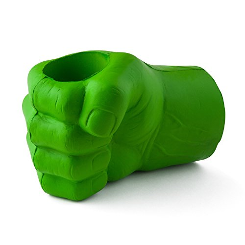 BigMouth Inc The Beast Giant Fist Drink Kooler, Green, Holds Can or Bottle, Keeps Drink Cold, Easy to Clean -